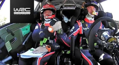 WRC – Tour de Corse 2017: Highlights Power Stage SS10