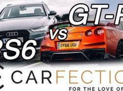 DRAG RACE: Audi RS6 contre Nissan GT-R