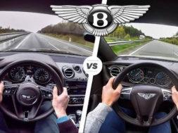 Duel à haute vitesse : BENTLEY Bentayga / Continental GT