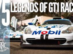 Les icônes du GT1 des années 1990 au 75MM de  Goodwood