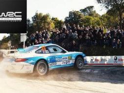2017 WRC Tour de Corse : PORSCHE 911 RGT