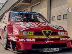 Essai rétro : Alfa Romeo 155 DTM