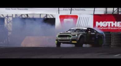 Drift à Long Beach : Vaughn Gittin Jr. rase les murs