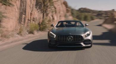 Mercedes-AMG GT C Roadster : ça décoiffe !