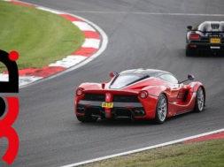 LaFerrari bien menée à Brands Hatch en POV