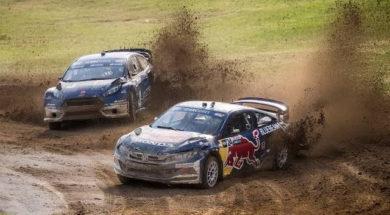 Les temps forts de la première manche de Rallycross US