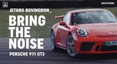 Faites du bruit : Porsche 911 GT3