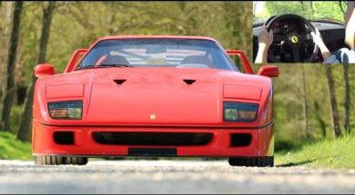 1992 Ferrari F40 : voyage au pays des rêves avec Auto Moto Magazine