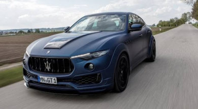 Maserati Levante Esteso, le SUV sportif de Novitec