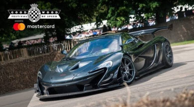 Caméra embarquée de la McLaren P1 LM au Festival Of Speed de Goodwood