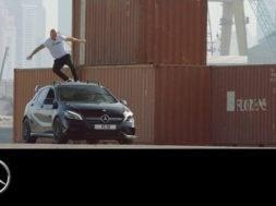 Pub : Mercedes-AMG se la joue extrême au Moyen-Orient