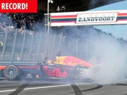 Le record de Max Verstappen à Zandvoort