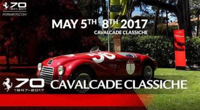 Ferrari fête ses 70 ans au Cavalcade Classiche