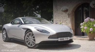 Aston Martin DB11 et ses secrets de beauté