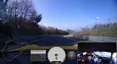 7 minutes 12.7 seconds au Nürburgring en Porsche GT3