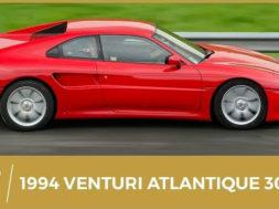 Rétro : Venturi Atlantique 300, le chant du 6