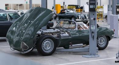 Jaguar Land Rover Classic Works s'occupe de son passé