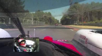 24 Heures du Mans : un tour avec Nakajima sur sa Toyota #8