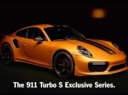 Au dessus du lot : 911 Turbo S Exclusive Series