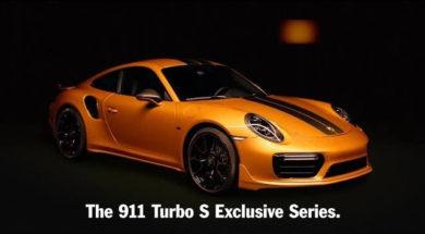 Au dessus du lot : 911 Turbo S Exclusive Series