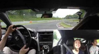 La Honda NSX est une auto familiale, l'Argus le prouve au Nürburgring