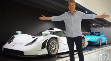 Dans les allées du Porsche Museum, coup d'œil dans le rétro
