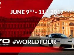 Ferrari fête ses 70 ans à Monza