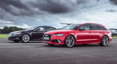 Tesla Model S vs Audi RS6
