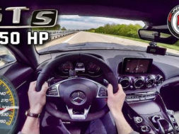 Mercedes AMG GT S 650 HP AUTOBAHN POV 309 km/h PP Performance