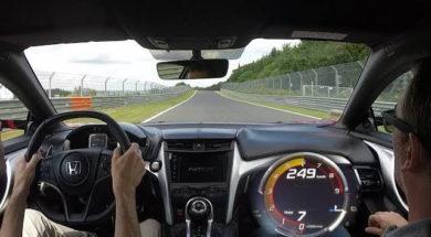 Caméra embarquée : Honda NSX 2017 au Nürburgring