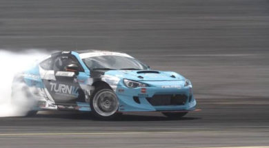 Formula Drift 2017, la gomme ça s'use