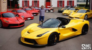 Quand un collectionneur agrandit  sa collection avec LaFerrari Aperta