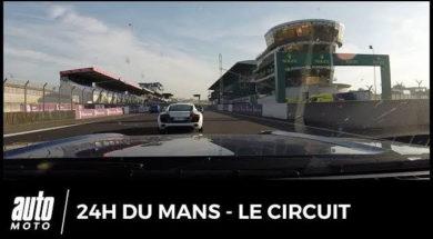 Le circuit des 24h du Mans comme si vous y étiez