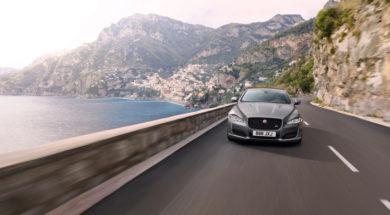 Jaguar XJR 575, l'interview la plus rapide du monde