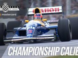La Williams FW14B de Nigel Mansell à Goodwood