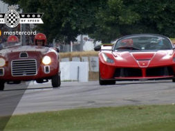 Duel Ferrari à Goodwood : LaFerrari Aperta / 125S