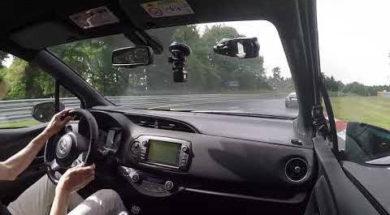 La Toyota Yaris GRMN au Nürburgring avec L'argus