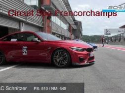 LA BMW M4 revue par AC Schnitzer à l'assaut de Spa