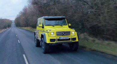 Chris Harris – Top Gear : Mercedes G500 4×4²