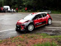 Sébastien Loeb retrouve l'équipe Citroën Racing et la C3 WRC pour une séance d'essais