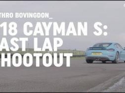 Un tour de circuit en Porsche 718 Cayman S