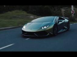 La Lamborghini Huracán est une voiture verte…