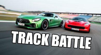 Duel de purs-sangs, la Corvette Z06 face à la Mercedes-AMG GT-R