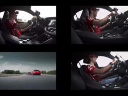 Les pilotes de la Scuderia se lâchent en Alfa Giulia Quadrifoglio