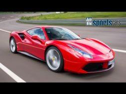 Un supertest pour la Ferrari 488 GTB