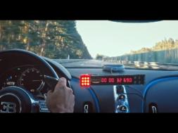 le défi du 0-400-0 km heure pour la Bugatti Chiron