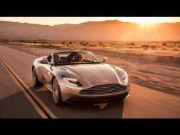 Aston Martin DB11 désormais en Volante