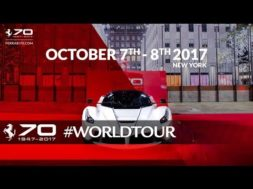 Ferrari fête ses 70 ans à New York
