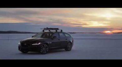 La Jaguar XF Sportbrake bat un record à ski…