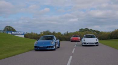 Porsche 911 Carrera 4 GTS, une série légendaire